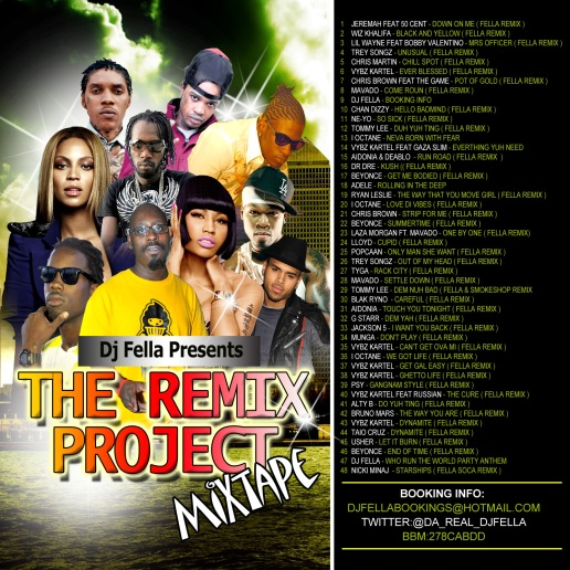 DJ FELLA REMIX PROJECT MIXTAPE