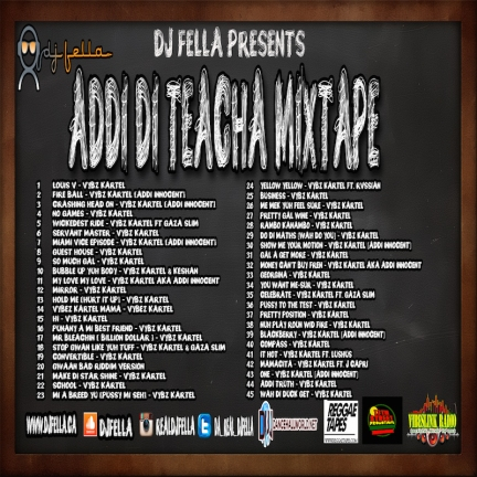 ADDI DI TEACHER MIXTAPE BACK