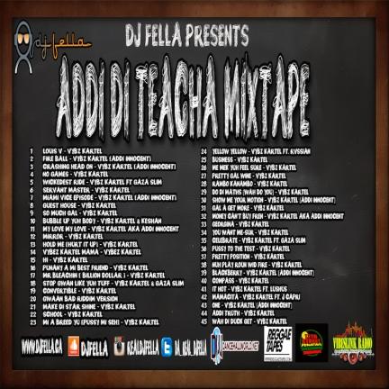 ADDI DI TEACHER MIXTAPE BACK