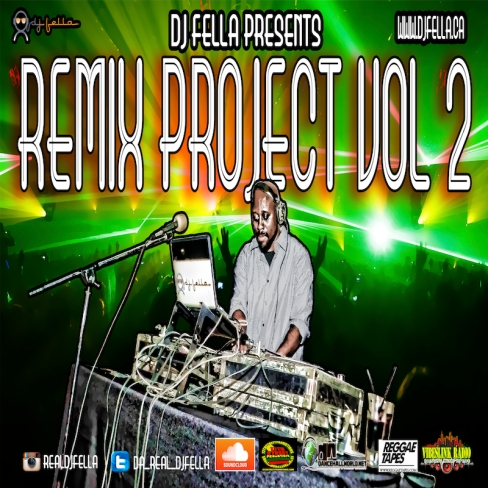 DJ FELLA REMIX PROJECT VOL 2 FRONT