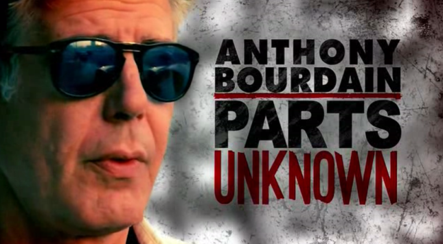 Jamaica, Anthony Bourdain, Parts Unknown, Geejam, Portland, St. Mary, Carl Bradshaw, Blog, 13thStreetPromotions, 13thStreetPromo, Video, CNN, Chef, Food, Culture, Music, Trident Hotel, Goldeneye, Chris Blackwell,