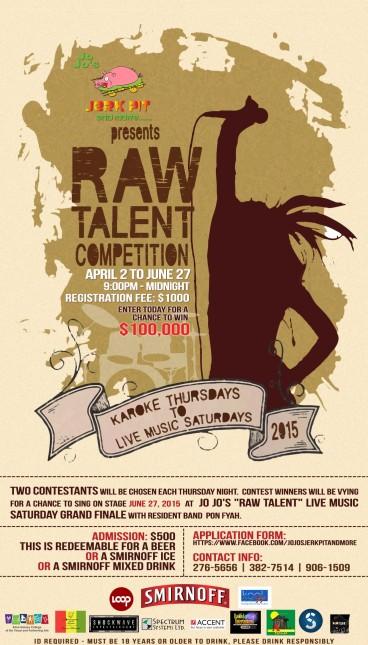JOJOS Raw Talent Contest