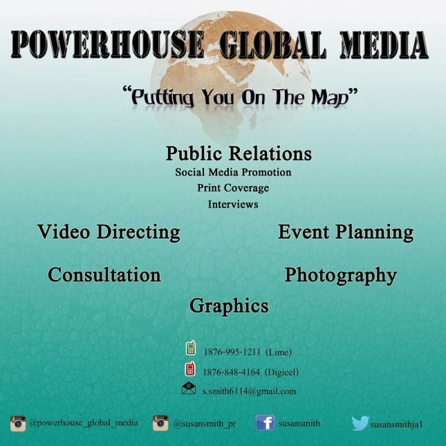 Power House Global Media, Susan SMith PR, 13thStreetPromotions