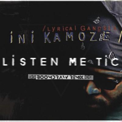 iNi Kamoze, Boomdraw, BoomdrawofFizix, Listen Me Tic, Listen Me Tic Remix, Yared Lee