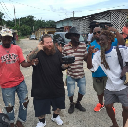 Action Bronson, Meyhem Lauren, Jah Tiger, Hip Hop, Jamaica, Fuck That's Delicious, 13thStreetPromotions, Blue Chips 7000