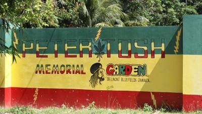 Peter Tosh Memorial Garden, Belmont, Westmoreland, Jamaica, Peter Tosh, 13thStreetPromotions. Reggae