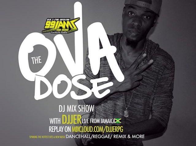 DJJer, DJJerPG, Jamaica, Florida, 13thStreetPromotions, DJ, Dancehall, Reggae, Mix Show, Remix, The Ovadose DJ Mix Show