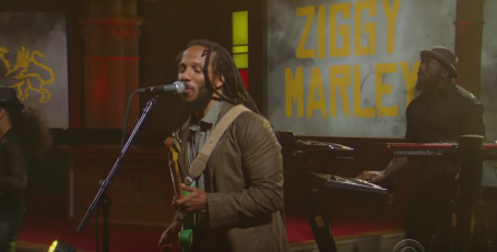 Ziggy Marley, Stephen Colbert, Late Show With Stephen Colbert, Weekend Long, 13thStreetPromotions, Reggae,