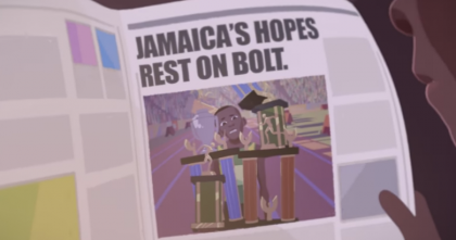 Usain Bolt, Jamaica, Athlete, Bolt, Gatorade, The Boy Who Learned To Fly, Animation, 13thStreetPromotions, Moonbot Studios, The Boy Who Learned To Fly