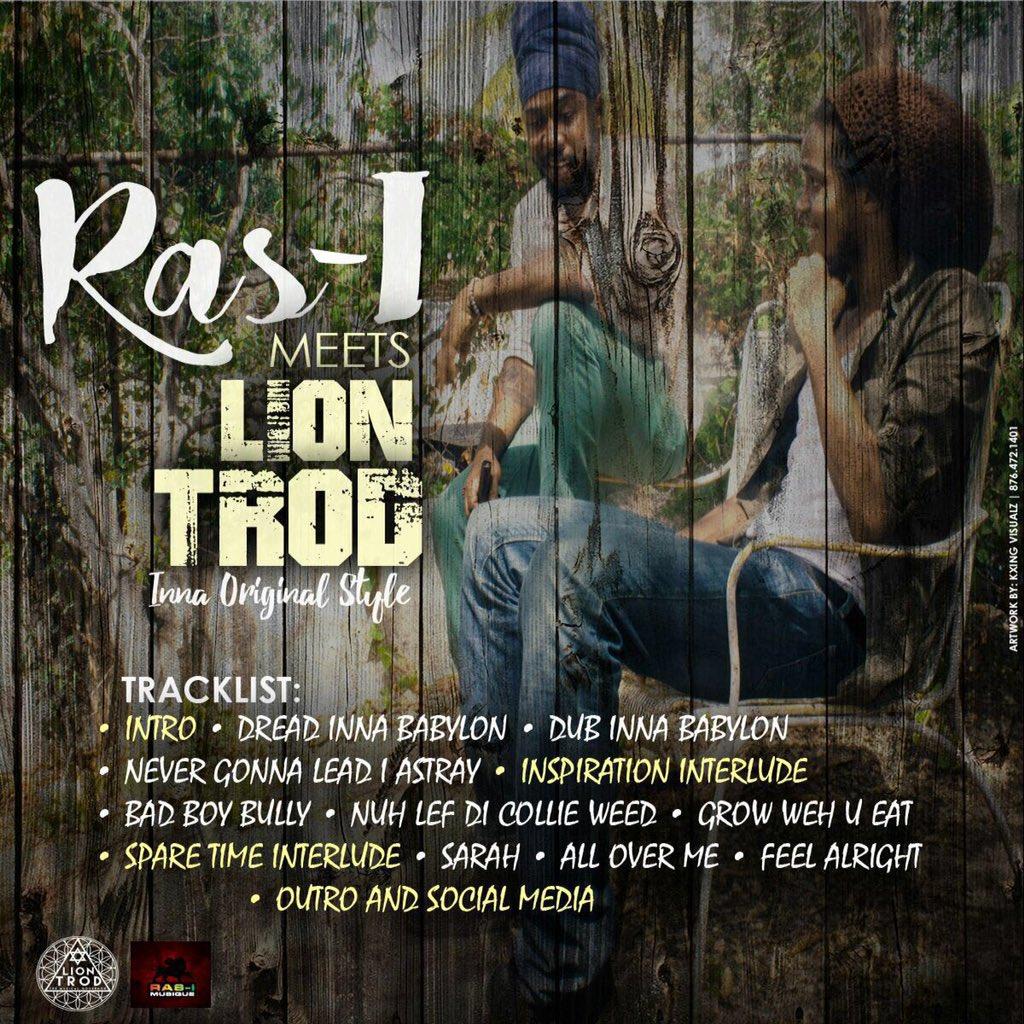Ras-I, Ras I Musique, JAmaica, LionTrod, Reggae, 13thStreetPromotions, Dub, Inna Original Style