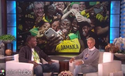 Usain Bolt, Ellen Show, Jamaica, 13thStreetPRomotions, Rio 2016, Bolt, Ellen degeneres, Talk Show, Athlete, Puma