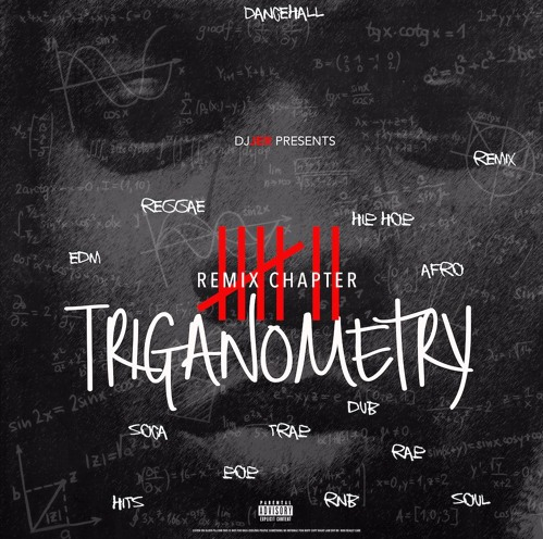 Jamaica, Dancehall, Hip Hop, Remix, DJ Jer, 13thStreetPromotions, Pawty Gunnaz, Triganometry, Triganometry Remix Chapter 7