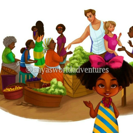 Anya's World Adventures, Jamaica, Book, Author, 13thStreetPromotions, Children, Child, Education, Nikko Fungchung, Fuuji Takashi, Author, Anya