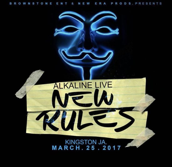 Jamaica, Dancehall, TheAlkaline, Alkaline, Vendetta, Blog, 13thStreetPromotions, Deejay, Controversy, Alkaline New Rules, Champion Boy, New Level Unlocked