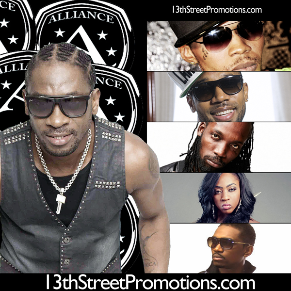 Jamaica, Dancehall, Bounty Killa, Bounty Killer, Cham, Spice, Mavado, Alliance, Alliance Next Generation, Vybz Kartel, Mavado, Busy Signal, Elephant Man, 13thStreetPromotions, Blog, Music, Dancehall Daddy, Gully, Gaza, Gully Side, Portmore Empire, Aidonia, 4thGenna, Spice, SpiceOfficial