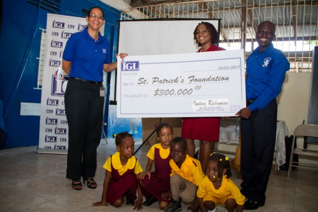 Jamaica, PR, Press Release, IGL Blue, IGL Gas, Donation, School, Riverton Meadows Early Childhood Centre, Blog, 13thStreetPromotions, 13thStreetPromo, St. Patrick's Foundation