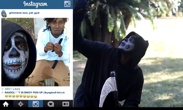 Jamaica, Comedy, Comedian, Kyng Tavii, Kevin2woKrayzee, Funny, Laugh, Blog, 13thStreetPromotions, The Grim Con, Youtube, For The Culture, Caribbean, Foodkaline, K2K, Grim Reaper,