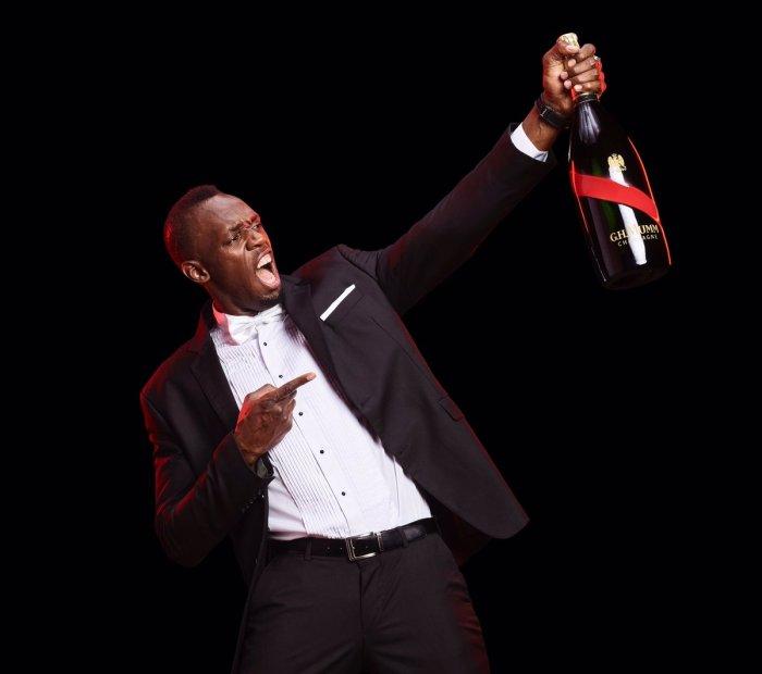 Jamaica, Athlete, Track & Field, Entertainment, Blog, Video, 13thStreetPromotions, 13thStreetPRomo, Usain Bolt, Bolt, Champagne, GHMUMM, Mumm International, Commercial, Ad, Caribbean, GHMUMM Champagne, Video, Jamaica, France,