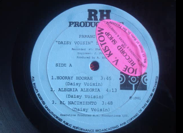 Jamaica, Trinidad and Tobago, Barbados, Christmas, Parang, Oldies Sunday, Old School, Blog, 13thStreetPromotions, 13thStreetPromo, T&T, 1981, Parang Queen, Daisy Voisin, Alegria Alegria, Spanish, Caribbean, Oldies,