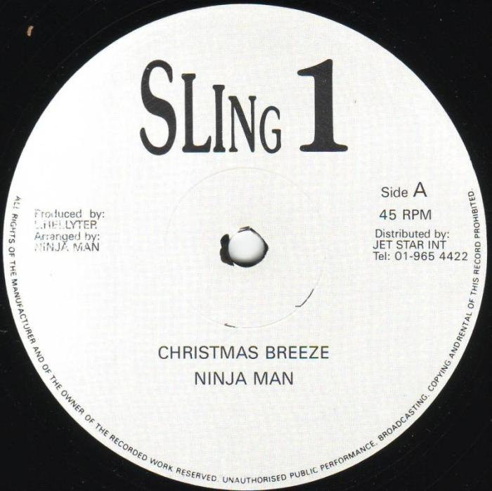 Jamaica, Dancehall, UK, Music, Blog, 13thStreetPromotions, 13thStreetPromo, Christmas Breeze, Ninja Man, NinjaMan, Don Gorgon, Caribbean, Sling 1, 1988, Oldies Sunday, Oldies, Old School, Christmas, Merry Christmas, Brother Desmond,
