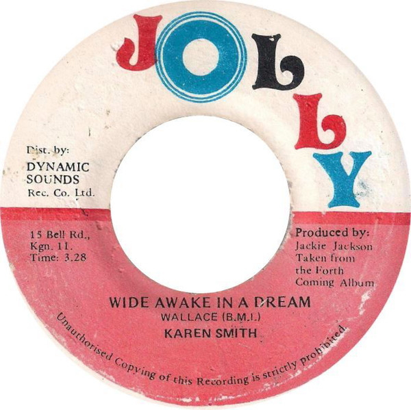 Karen Smith, Jamaica, Songbird, Reggae, Jazz, Music, Blog, 13thStreetPromotions, Courtni, Wide Awake In A Dream, Jerry Jackson, Jackie Jackson, Wallace Wilson, Caribbean, Oldies, Old School, Oldies Sunday, 1986, Throwback