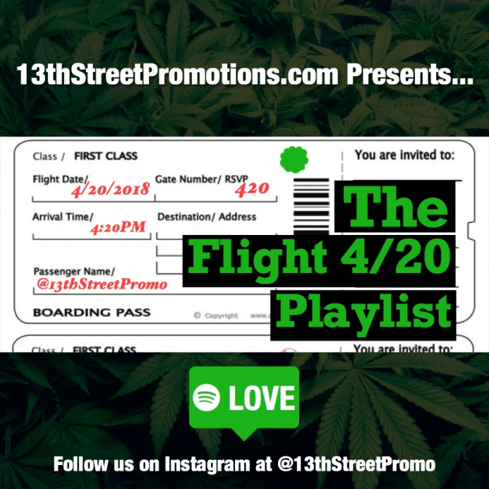 Jamaica, Weed, Marijuana, Ganja, Herb, Music, 420, 4/20, Blog, 13thStreetPromotions, 13thStreetPromo, Caribbean, Entertainment, Stoner, Stoned, High, Cloud 9, Dancehall, Reggae, Playlist, Spotify, Spotify Playlist, Weedman, Weedhead,