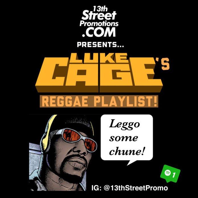 Jamaica, Reggae, Music, Blog, 13thStreetPromotions, 13thStreetPromo, Netflix, Luke Cage, Luke Cage's Reggae Playlist, Bob Marley, Ini Kamoze, Caribbean, Spotify, Entertainment, Marvel Comics, Superhero,