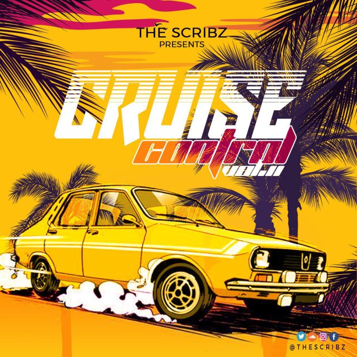 Jamaica, Dancehall, DJ, Music, Blog, 13thStreetPromotions, 13thStreetPromo, DJ Scribz, TheScribz, Mixtape, Mix, Cruise Control 2 Mixtape, Unruly, Entertainment, Caribbean, Soundcloud, TheScribz, Cruise Control, Cruise Control Vol. 2, Mix, Hip Hop