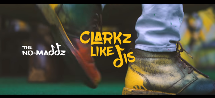 Jamaica, Dancehall, Dub Poetry, Reggae, Music, Music Video, Blog, 13thStreetPromotions, 13thStreetPromo, No-Maddz, Clarkz Like Dis, Clarks, Clarks Shoes, Clarks Original, UK, Caribbean, Nomaddz, Walshy Fire, The Wixard, Sheldon Shepherd, Everaldo Creary