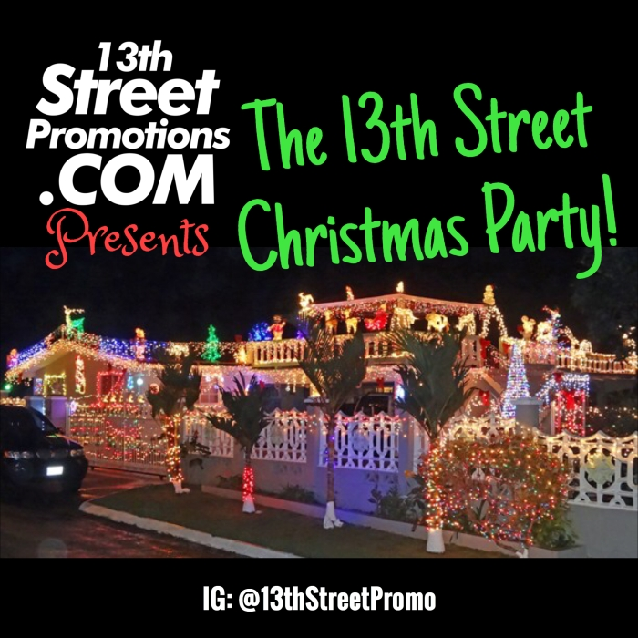 Jamaica, Dancehall, Reggae, Soca, Parang, Music, Blog., 13thStreetPromotions, 13thStreetPromo, Christmas, Xmas, Christmas Playlist, Christmas Party, Party, Caribbean, Spotify, Tidal, Entertainment, Playlist