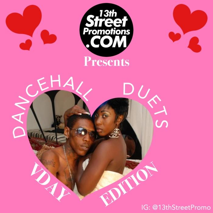 Jamaica, Dancehall, Music, Blog, 13thStreetPromotions, 13thStreetPromo, VDay, Valentine's Day, Valentines, Vybz Kartel, Spice, Beenie Man, Lady Saw, iShawna, Mavado, Masicka, Tifa, Dexta Daps, Caribbean, Tidal, Spotify, Playlist, Spotify Playlist, Tidal Playlist, Raine Seville, Konshens, Valentine's Day Playlist, Valentine's Day, VDay Playlist, Spotify Playlist, Tidal Playlist
