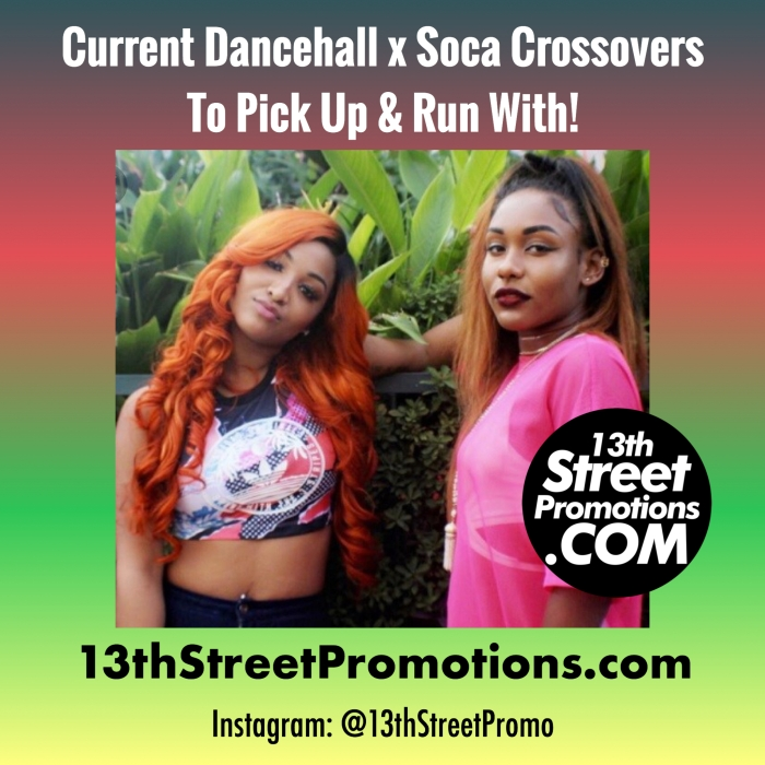 Jamaica, Dancehall, Trinidad & Tobago, Soca, Soca Music, Blog, Music, 13thStreetPromotions, 13thStreetPromo, Nailah Blackman, Shenseea, Machel Montano, Ding Dong, Konshens, Destra Garcia, Spice, Spice Official, Caribbean, Dancehall x Soca, Crossover, Kes, Kes The Band