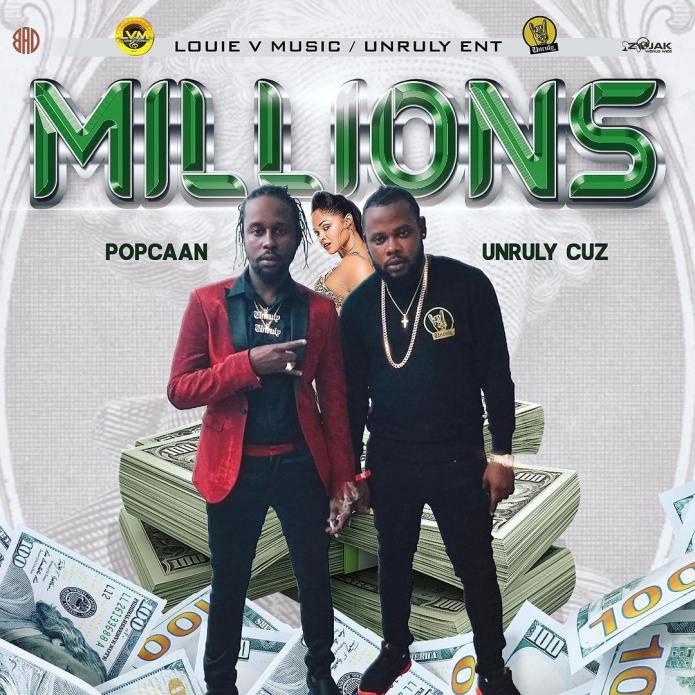 Jamaica, Dancehall, Music, Blog, 13thStreetPromotions, 13thStreetPromo, Popcaan, Popcaan Music, Unruly Ent., Unruly Cuz, @UnrulyCuzzz, @PopcaanMusic, Caribbean, Money, Millions, Louie V Music,