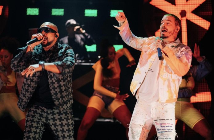 Jamaica, Colombia, Dancehall, Reggaeton, Pop Music, Music, Blog, 13thStreetPromotions, 13thStreetPromo, J Balvin, Sean Paul, James Corden, Late Late Show, Caribbean, Contra La Pared