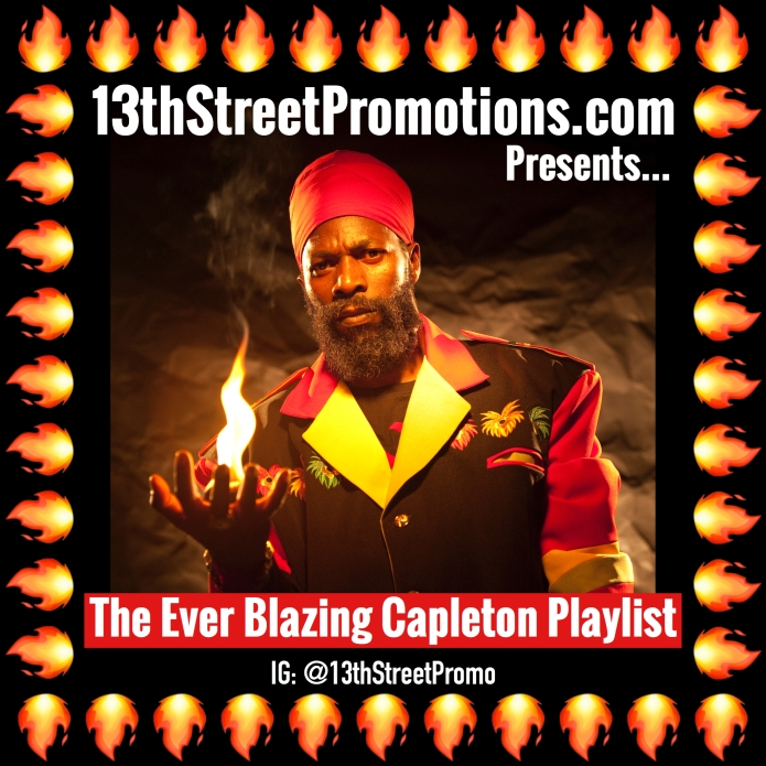Jamaica, Reggae, Dancehall, Music, Blog, 13thStreetPromotions, 13thStreetPromo, Capleton, King Shango, Fireman, Fiyah Man, Caribbean, Spotify, Spotify Playlist, Tidal, Tidal Playlist, Caribbean, CapletonMusic, Capleton, Capleton Playlist