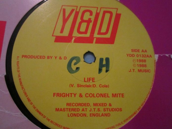 Jamaica, UK, USA, Dancehall, Pop Music, Music, Blog, 13thStreetPromotions, 13thStreetPromo, Frighty, Colonel Mite, Mogul Records, Profile Records, Caribbean, Oldies, 1988, Oldies Sunday, Old School