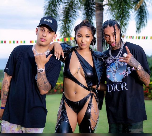 Jamaica, LA, Cali, Rvssian, Shenseea, Tyga, T-Raww, Blessed, Dancehall, Hip Hop, Pop Music, Music video,