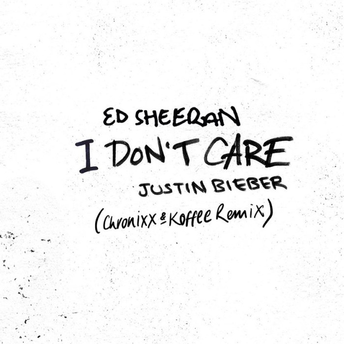 Jamaica, UK, London, Ed Sheeran, Justin Bieber, Canada, Chronixx, Koffee, I Don't Care, I Don't Care Remix, Caribbean, Reggae, Dancehall, Pop Music, Blog, 13thStreetPromotions, 13thStreetPromo, ChronixxMusic, OriginalKoffee,