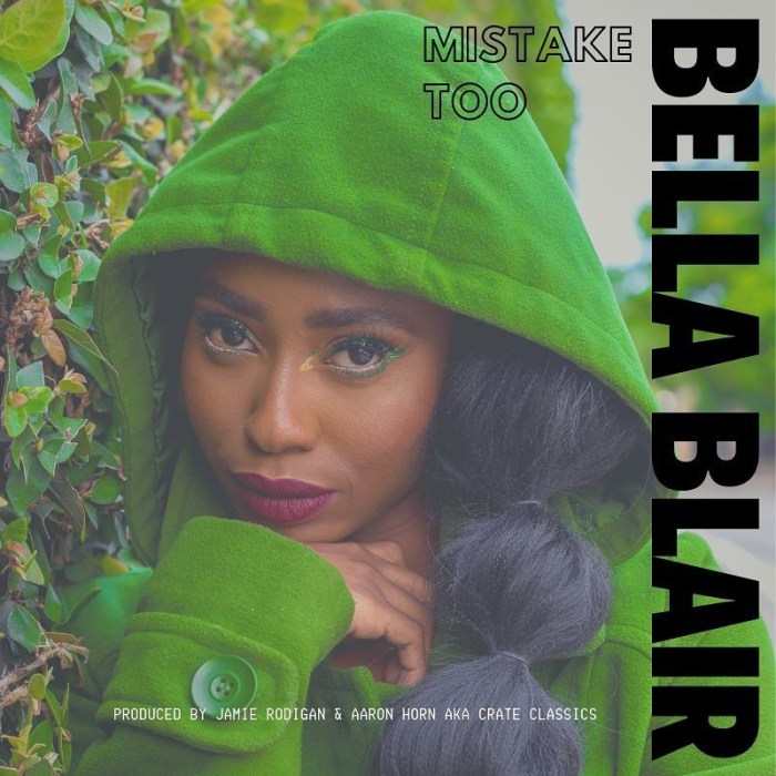 Jamaica, UK, London, Dancehall, Pop Music, Music, Blog, 13thStreetPromotions, 13thStreetPromo, Bella Blair, TheBellaBlair, Mistake Too, Crate Classics, Aaron Horn, Jamie Rodigan, Jaime Rodigan, Caribbean, Singer,