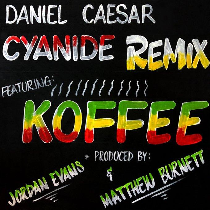 Jamaica, Toronto, Canada, Dancehall, Pop Music, R&B, Music, Blog, 13thStreetPromotions, 13thStreetPromo, Daniel Caesar, Koffee, Kardinal Offishall, Kardinal O, Cyanide, Cyanide Remix, Caribbean,