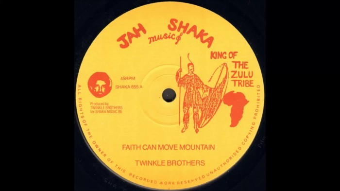 Jamaica, Reggae, Roots Reggae, Music, Blog, 13thStreetPromotions, Twinkle Brothers, Faith Can Move Mountain, Caribbean, Oldies, Old School, 1986, Oldies Sunday,