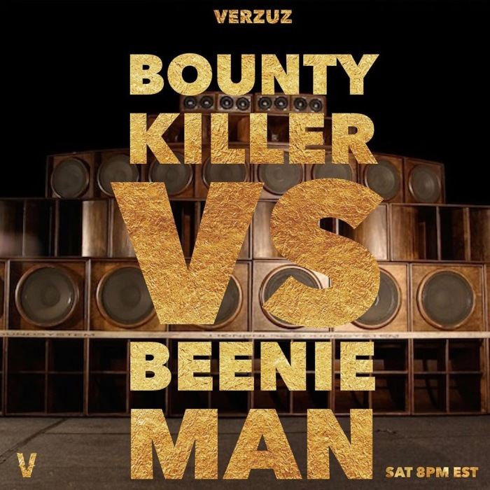 Beenie Man Bounty Killer Bounty Killa Beenie vs Bounty Verzuz Swizz Beatz Timbaland Verzuztv verzuzonline dancehall music 13thstreetpromo 13thstreetpromotions Caribbean