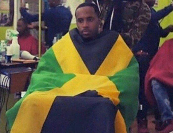 Safaree Jamaica 13thStreetPromotions 13thStreetPromo Caribbean Jamaica Flag Jamaican