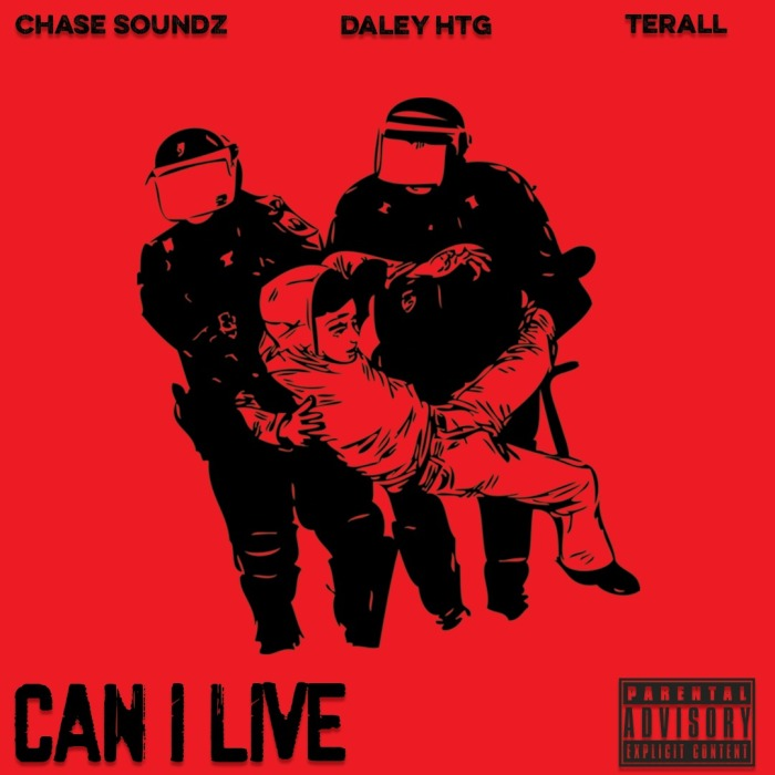 Daley HTG Terall Chase Soundz Can I Live Black Lives Matter #BLM #BlackLivesMatter Caribbean Texas Florida Protest