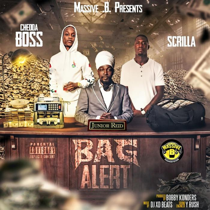 Massive B Junior Reid Scrilla Chedda Boss Bag Alert NY Drill Hip Hop Music Music Video 13thStreetPromo 13thStreetPromotions Bobby Konders Caribbean NY