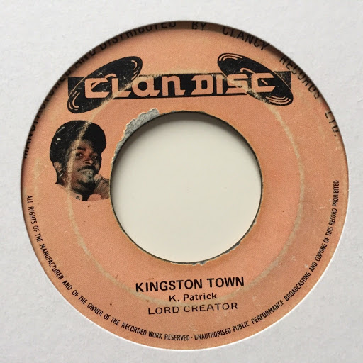 Jamaica Trinidad and Tobago Reggae Ska Music Blog 13thStreetPromotions Lord Creator Kingston Town UB40 Caribbean Oldies 1970 Old School Oldies Sunday