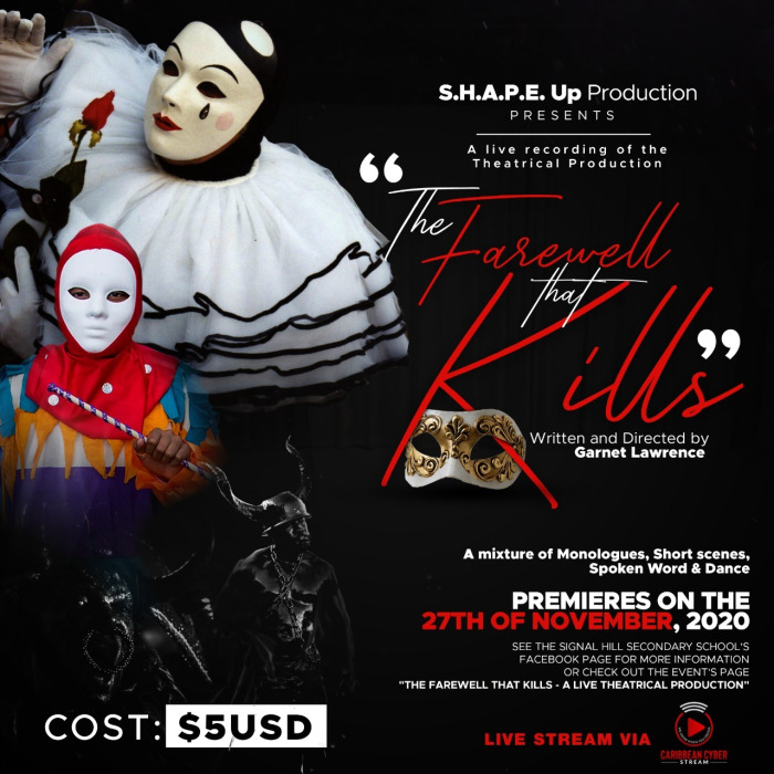 Trinidad and Tobago Theatre The Farewell That Kills T&T 13thStreetPromotions 13thStreetPromo Caribbean T&T Performing Arts Network