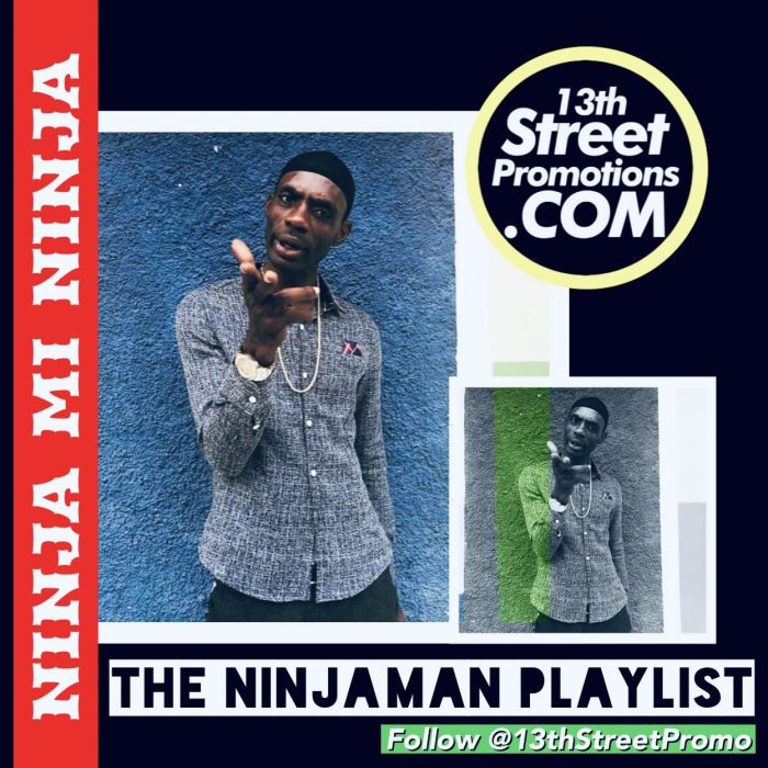 Jamaica Dancehall Music Blog 13thStreetPromo 13thStreetPromotions Ninjaman Ninja Man Desmond Ballentine Caribbean Playlist Ninja Mi Ninja Border Clash