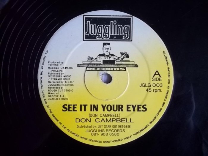UK London Jamaica Music Blog 13thStreetPromotions 13thStreetPromo Don Campbell See It In Your Eyes Juggling Records Lover's Rock Caribbean Lovers Rock Valentines Day Valentine's Day VDay Love