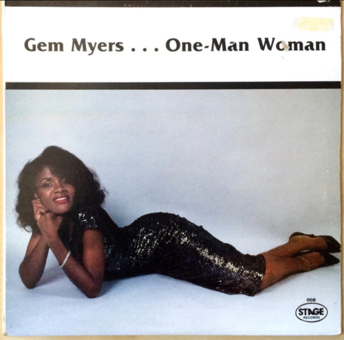 Jamaica Reggae Pop Music Singer Blog 13thStreetPromotions 13thStreetPromo Gem Myers One Man Woman 1986 Oldies Sunday Oldies Old School Caribbean